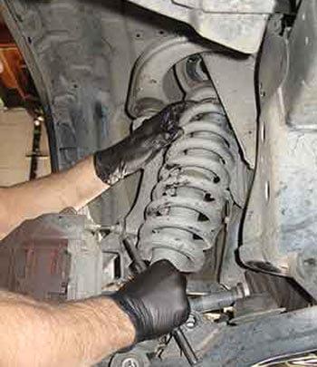 reparacion suspension amortiguadores